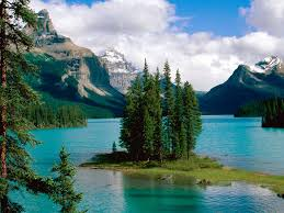 The Parks of Western Canada- Maligne Lake